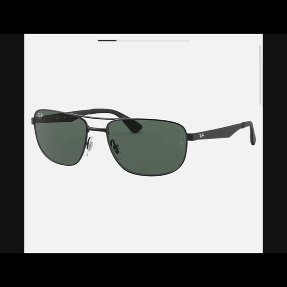 Black Ray Ban sun glasses for men